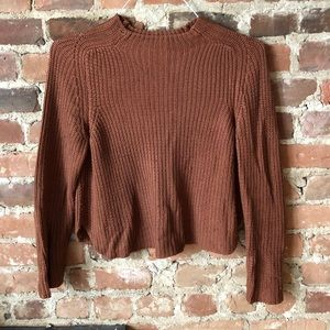American Apparel Aslan sweater, Size M, brown